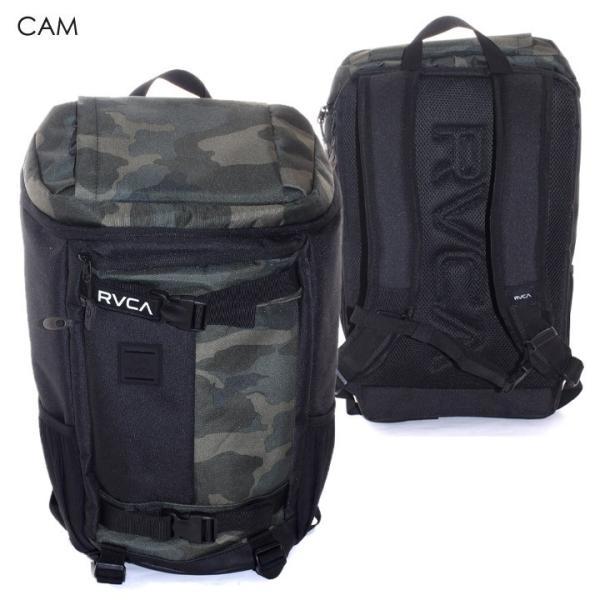 RVCA リュック メンズ VOYAGE SKATE BACKPACK AI041-962 2018春夏 ブラック/グリーン/グレー 16L|3direct|04