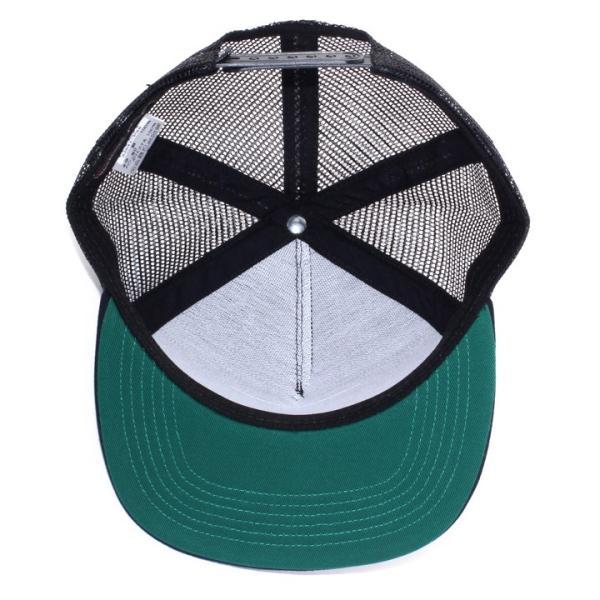 RVCA x BIRDWELL キャップ メンズ BIRDIE TRUCKER CAP AI041-P96 2018夏 ブラック/ブルー ワンサイズ|3direct|12