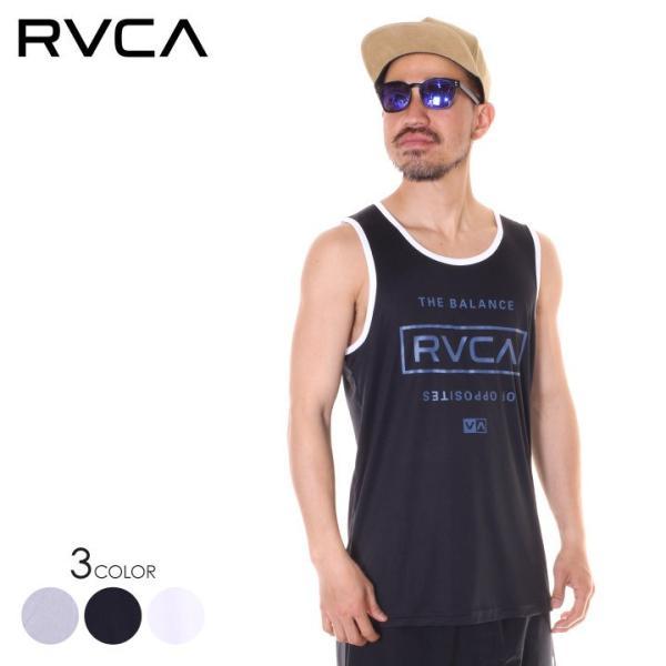 RVCA ルーカ タンクトップ メンズ STACKED 2019春夏 3direct