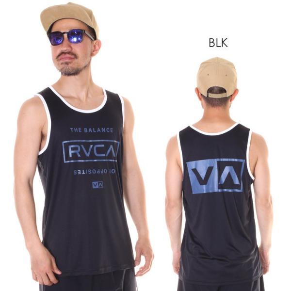 RVCA ルーカ タンクトップ メンズ STACKED 2019春夏 3direct 03
