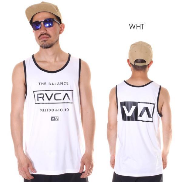 RVCA ルーカ タンクトップ メンズ STACKED 2019春夏 3direct 04