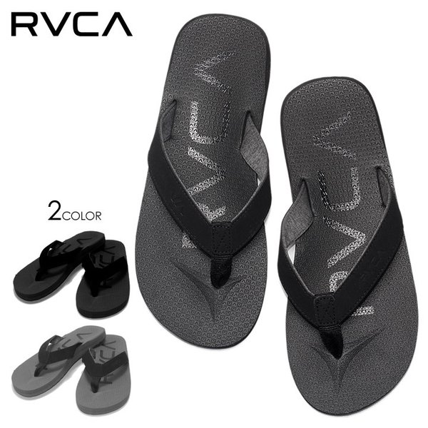 RVCA ルーカ ビーチサンダル メンズ SUBTROPIC SANDAL - AJ041-972 2019春夏|3direct
