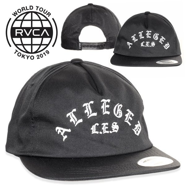 RVCA ルーカ キャップ ALLEGED LES HAT|3direct