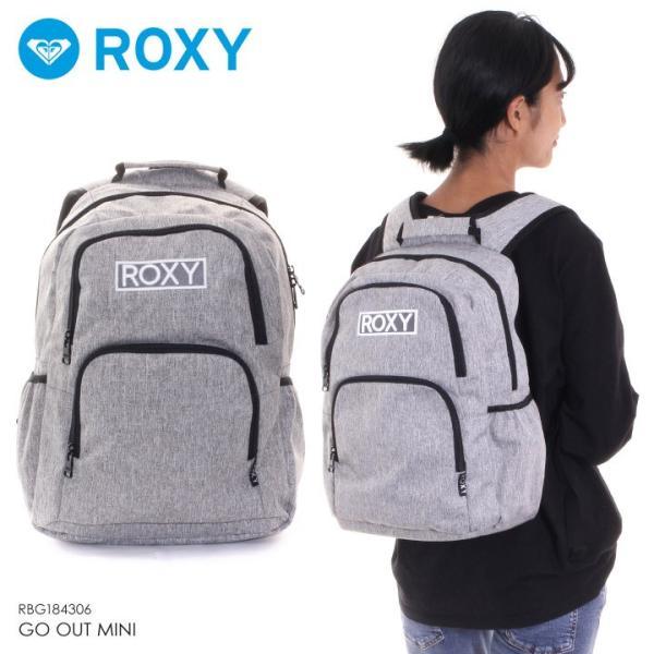 ROXY ロキシー リュック レディース GO OUT MINI RBG184306 2018秋冬 グレー 13.6L 3direct