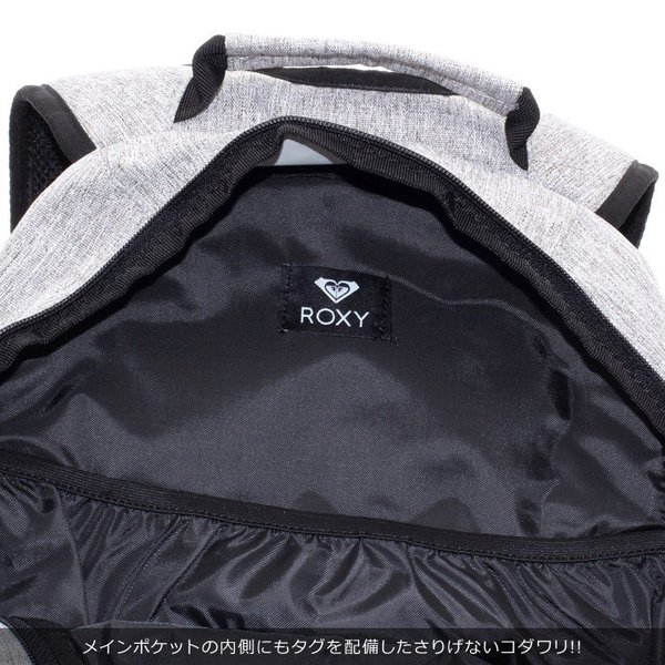 ROXY ロキシー リュック レディース GO OUT MINI RBG184306 2018秋冬 グレー 13.6L 3direct 13