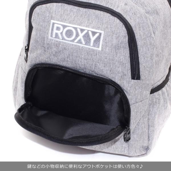 ROXY ロキシー リュック レディース GO OUT MINI RBG184306 2018秋冬 グレー 13.6L 3direct 09