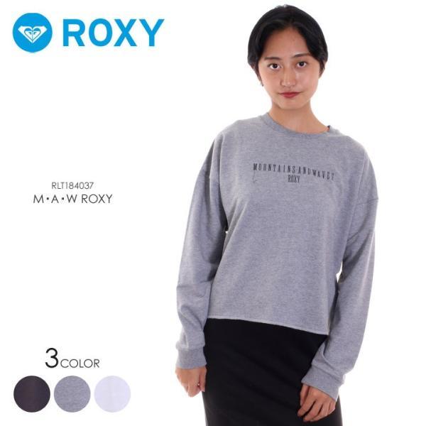ROXY ロキシー ロンT レディース M・A・W ROXY RLT184037 2018秋冬 ブラック/グレー/ホワイト S/M/L|3direct