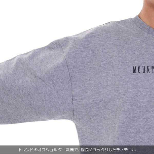 ROXY ロキシー ロンT レディース M・A・W ROXY RLT184037 2018秋冬 ブラック/グレー/ホワイト S/M/L|3direct|08