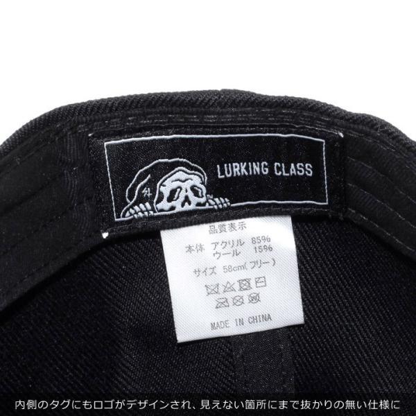 LURKING CLASS ラーキングクラス キャップ メンズ LC SNAPBACK ST18FC07 2018秋冬 ブラック ワンサイズ|3direct|09