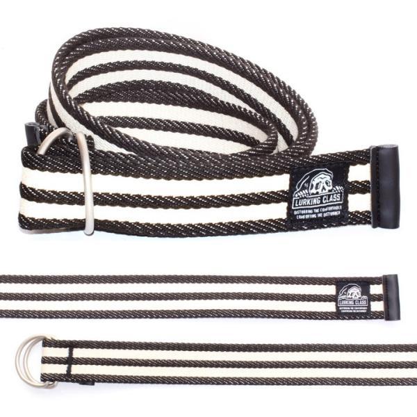LURKING CLASS ラーキングクラス ベルト メンズ LC RING BELT ST19SA03 2019春夏 ホワイト/ブラック フリーサイズ|3direct|02