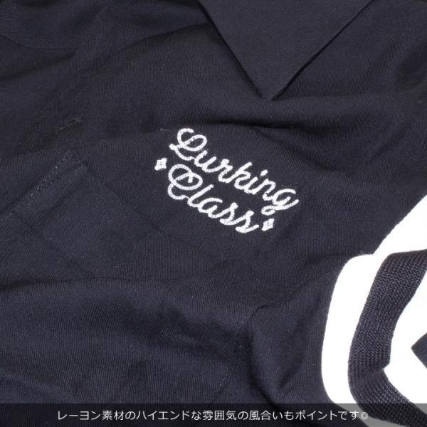 LURKING CLASS ラーキングクラス シャツ メンズ NO SURRENDER BOW ST19SU02 2019春夏 ブラック S/M/L|3direct|12