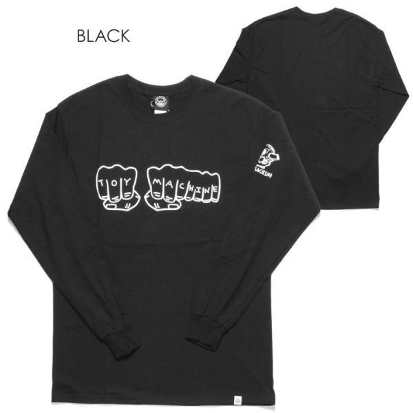 TOY MACHINE トイマシーン Tシャツ ロンT メンズ FIST LONG SLEEVE TEE|3direct|02