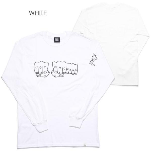 TOY MACHINE トイマシーン Tシャツ ロンT メンズ FIST LONG SLEEVE TEE|3direct|04