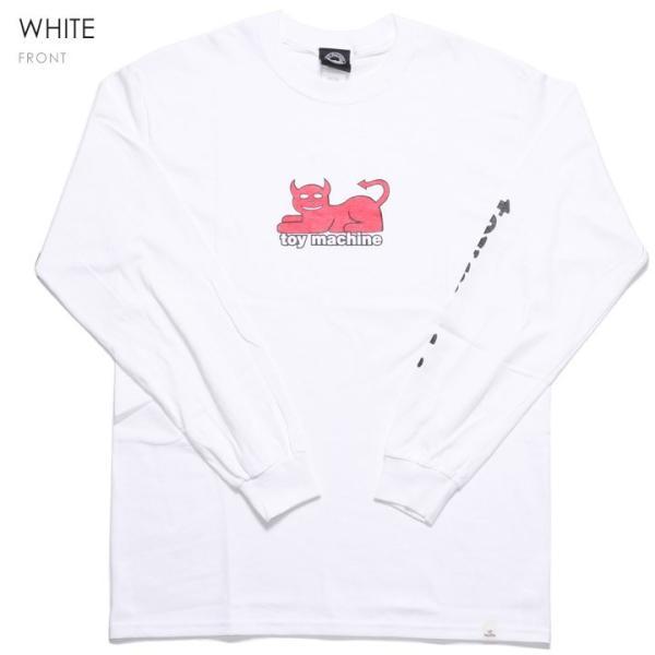 TOY MACHINE トイマシーン Tシャツ ロンT メンズ DAEMON CAT PRINT LONG TEE|3direct|04