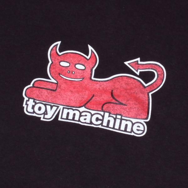 TOY MACHINE トイマシーン Tシャツ ロンT メンズ DAEMON CAT PRINT LONG TEE|3direct|06