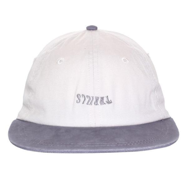 THRILLS キャップ メンズ FAN CLUB CAP TS7-508C 2018春 ベージュ/グレー フリーサイズ|3direct|02
