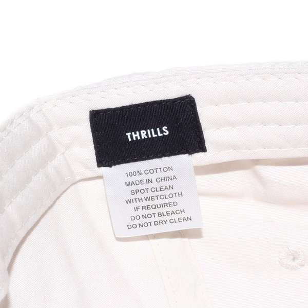 THRILLS キャップ メンズ FAN CLUB CAP TS7-508C 2018春 ベージュ/グレー フリーサイズ|3direct|08