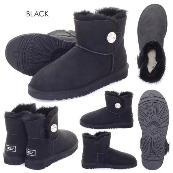 UGG ムートンブーツ ベイリーボタン ブーツ レディース MINI BAILEY BUTTON BLING 新品 1003889|3direct|11