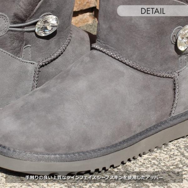 UGG ムートンブーツ ベイリーボタン ブーツ レディース MINI BAILEY BUTTON BLING 新品 1003889|3direct|06