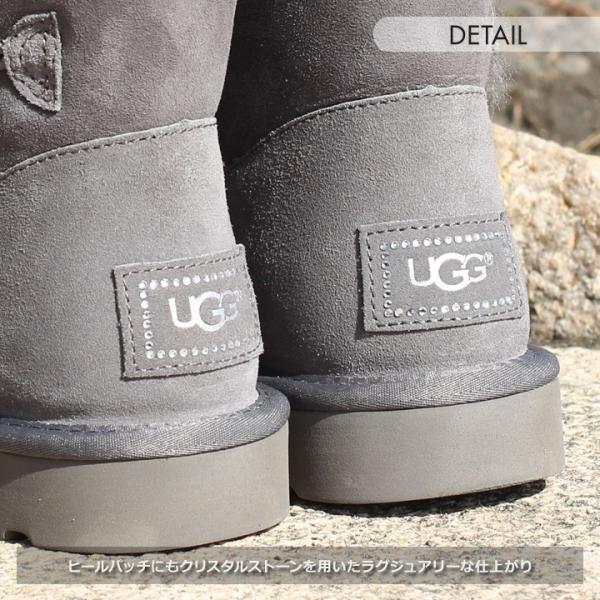 UGG ムートンブーツ ベイリーボタン ブーツ レディース MINI BAILEY BUTTON BLING 新品 1003889|3direct|08