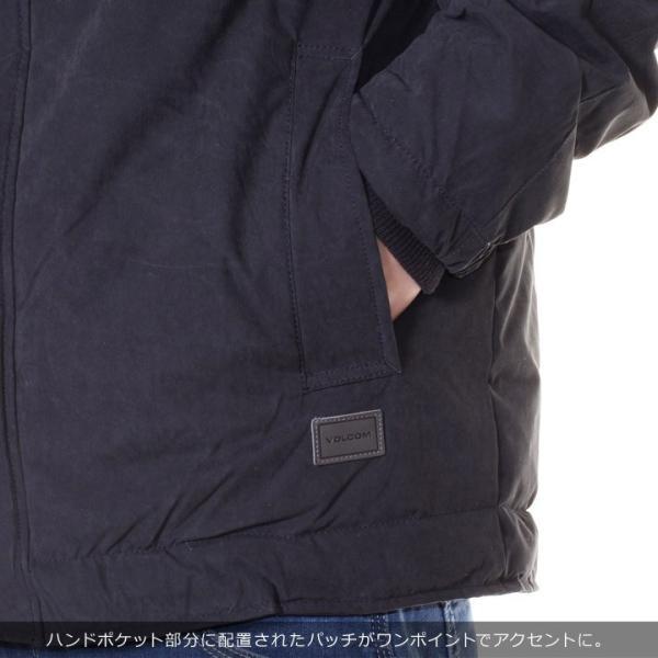 VOLCOM ボルコム ジャケット メンズ GOODMAN JACKET A1731707 2018秋冬 ブラック S/M/L 3direct 08