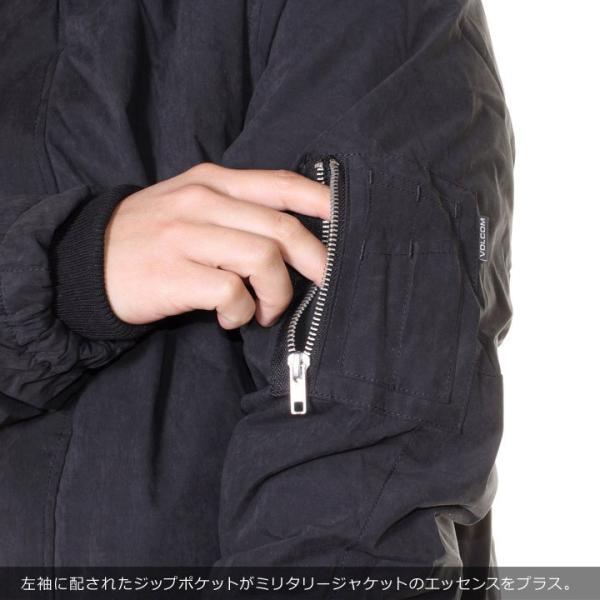 VOLCOM ボルコム ジャケット メンズ GOODMAN JACKET A1731707 2018秋冬 ブラック S/M/L 3direct 09