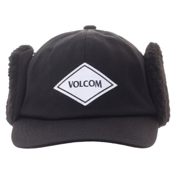 VOLCOM ボルコム キャップ メンズ VOLCOM PILOT CAP D55318JA 2018秋冬 ブラック ワンサイズ|3direct|02