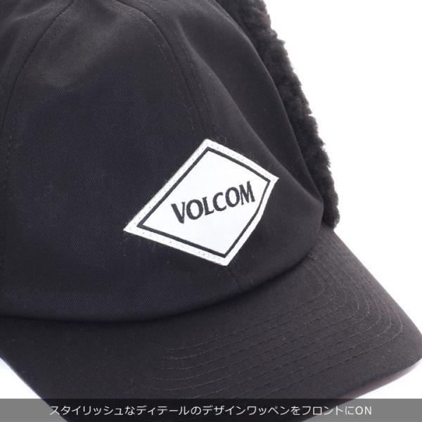 VOLCOM ボルコム キャップ メンズ VOLCOM PILOT CAP D55318JA 2018秋冬 ブラック ワンサイズ|3direct|06