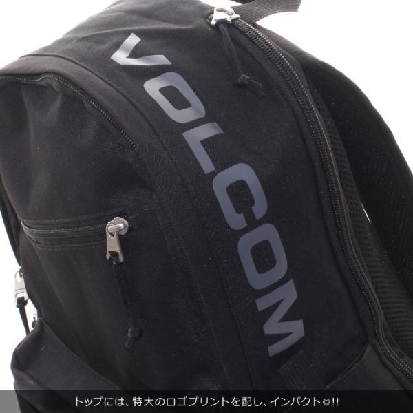 VOLCOM ボルコム リュック メンズ STONE URBAN BAG D65318JC 2018秋冬 ブラック/カーキ 24L|3direct|06