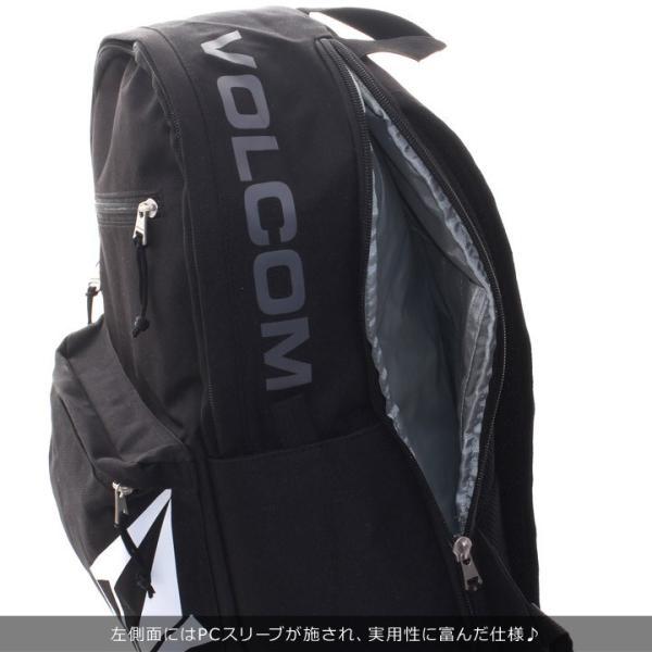 VOLCOM ボルコム リュック メンズ STONE URBAN BAG D65318JC 2018秋冬 ブラック/カーキ 24L|3direct|07