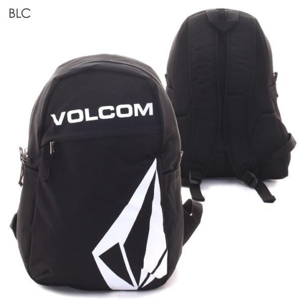 VOLCOM ボルコム リュック メンズ STONE SIMPLE BAG D65318JD 2018秋冬 ブラック/カーキ 27L|3direct|02