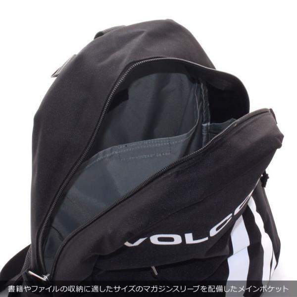 VOLCOM ボルコム リュック メンズ STONE SIMPLE BAG D65318JD 2018秋冬 ブラック/カーキ 27L|3direct|12