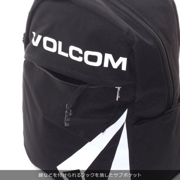 VOLCOM ボルコム リュック メンズ STONE SIMPLE BAG D65318JD 2018秋冬 ブラック/カーキ 27L|3direct|09