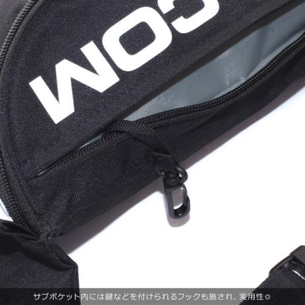VOLCOM ボルコム ショルダーバッグ メンズ STONE WAISTED PACK D65318JE 2018秋冬 ブラック/カーキ 8L|3direct|09