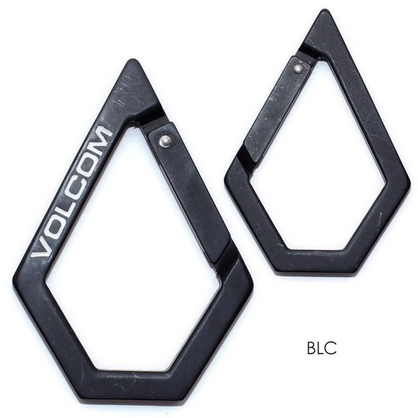 VOLCOM ボルコム カラビナ メンズ STONE KARABINER D67318JA 2018秋冬 ブラック/ホワイト/ラスタカラー/ゴールド ワンサイズ|3direct|02