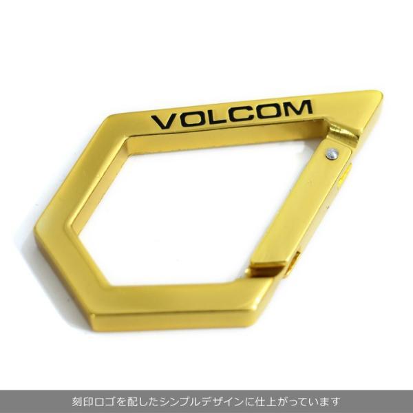 VOLCOM ボルコム カラビナ メンズ STONE KARABINER D67318JA 2018秋冬 ブラック/ホワイト/ラスタカラー/ゴールド ワンサイズ|3direct|06