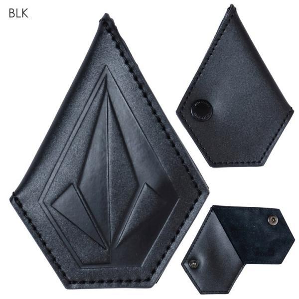 VOLCOM ボルコム コインケース メンズ STONE COIN CASE D67418JC 2018秋冬 ブラック/ブラウン ワンサイズ|3direct|02