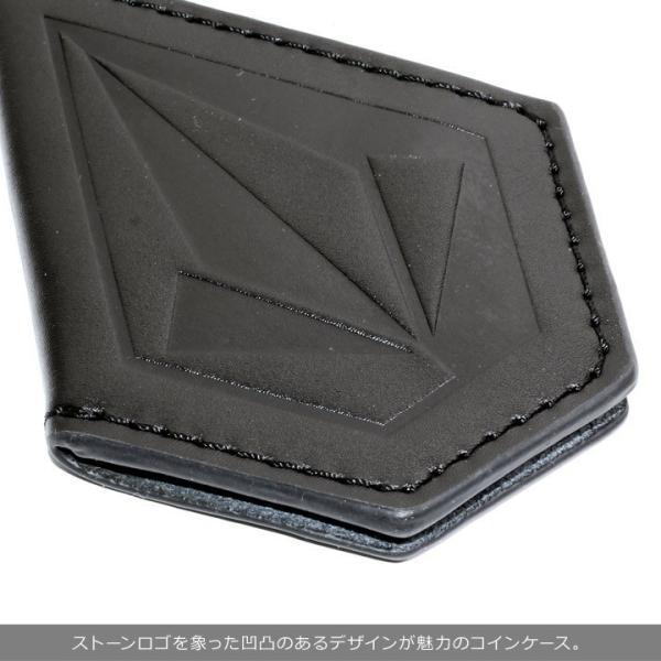 VOLCOM ボルコム コインケース メンズ STONE COIN CASE D67418JC 2018秋冬 ブラック/ブラウン ワンサイズ|3direct|04