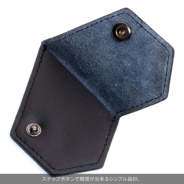 VOLCOM ボルコム コインケース メンズ STONE COIN CASE D67418JC 2018秋冬 ブラック/ブラウン ワンサイズ|3direct|06