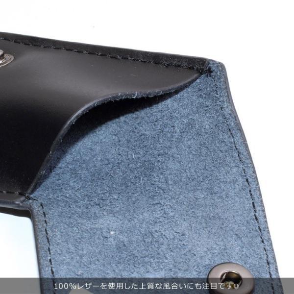 VOLCOM ボルコム コインケース メンズ STONE COIN CASE D67418JC 2018秋冬 ブラック/ブラウン ワンサイズ|3direct|07