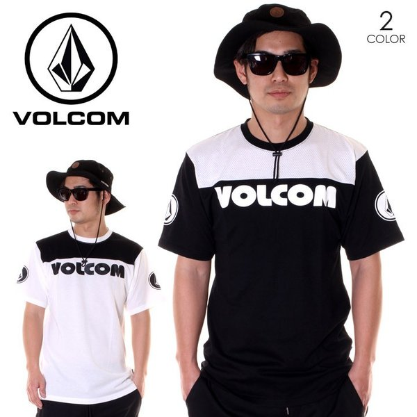 VOLCOM Tシャツ メンズ V MESH S/S TEE A01119JA 2018春夏|3direct