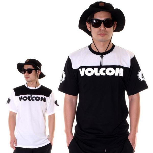 VOLCOM Tシャツ メンズ V MESH S/S TEE A01119JA 2018春夏|3direct|11