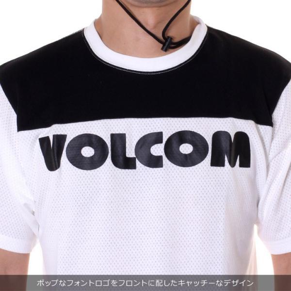 VOLCOM Tシャツ メンズ V MESH S/S TEE A01119JA 2018春夏|3direct|07