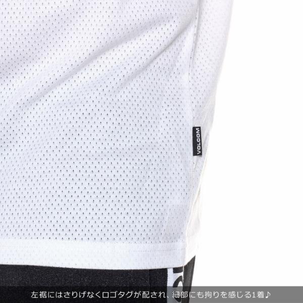 VOLCOM Tシャツ メンズ V MESH S/S TEE A01119JA 2018春夏|3direct|09