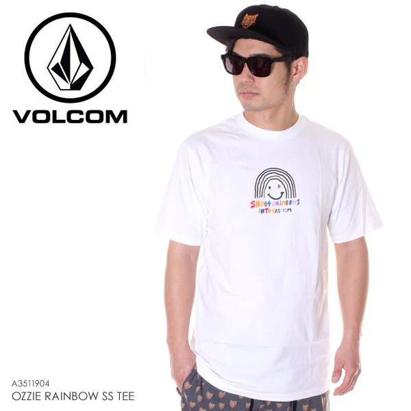 VOLCOM ボルコム Tシャツ メンズ OZZIE RAINBOW S/S TEE A3511904 2019春夏|3direct