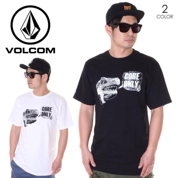 VOLCOM ボルコム Tシャツ メンズ SPEAK UP CORE ONLY S/S TEE A35119JB 2019春夏|3direct