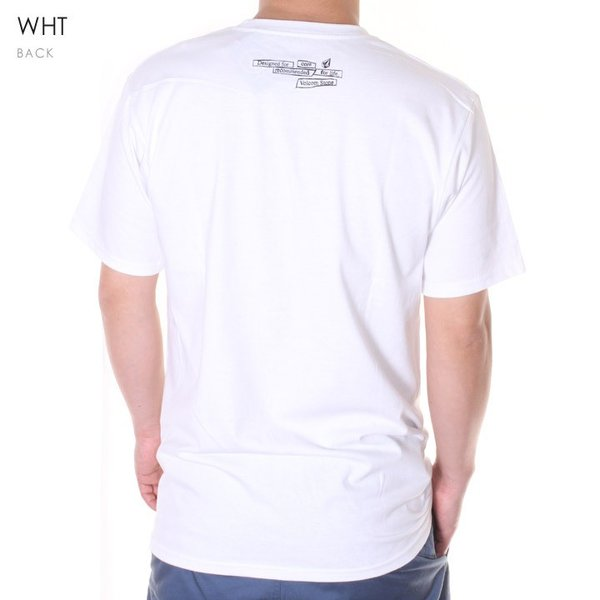 VOLCOM ボルコム Tシャツ メンズ SPEAK UP CORE ONLY S/S TEE A35119JB 2019春夏|3direct|05