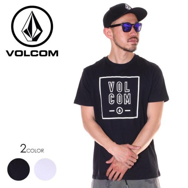 VOLCOM ボルコム Tシャツ メンズ APAC FLAGG STONE S/S TEE AF5119G2 2019春夏|3direct