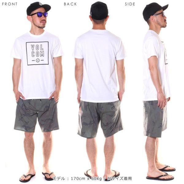 VOLCOM ボルコム Tシャツ メンズ APAC FLAGG STONE S/S TEE AF5119G2 2019春夏|3direct|08