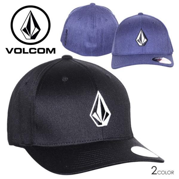 VOLCOM ボルコム キャップ メンズ FULL STONE XFIT HAT D5511105 2019春夏|3direct